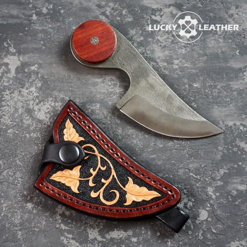 Knife and scabbard set Beaver Claw