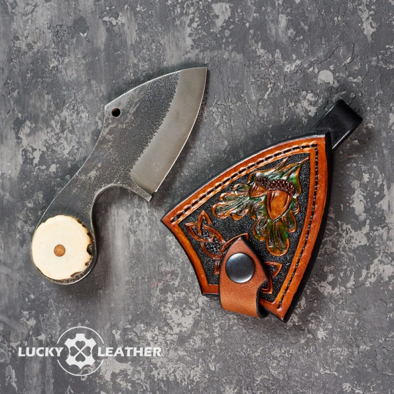 Knife and scabbard set Beaver Pecker