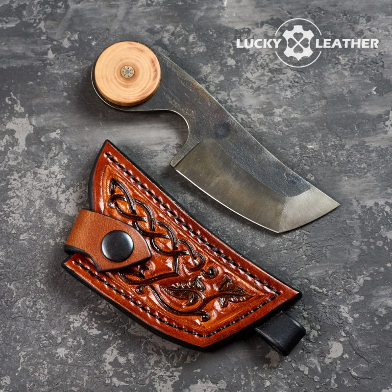 Knife and scabbard set Beaver Tanto