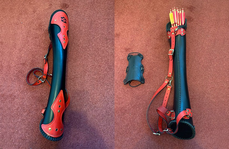 Updated Ergo Standard back quiver: review