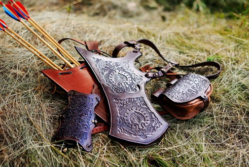 Leather Arrow Quivers