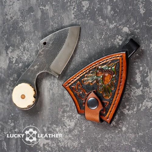 Комплект ніж і чохол Beaver Pecker