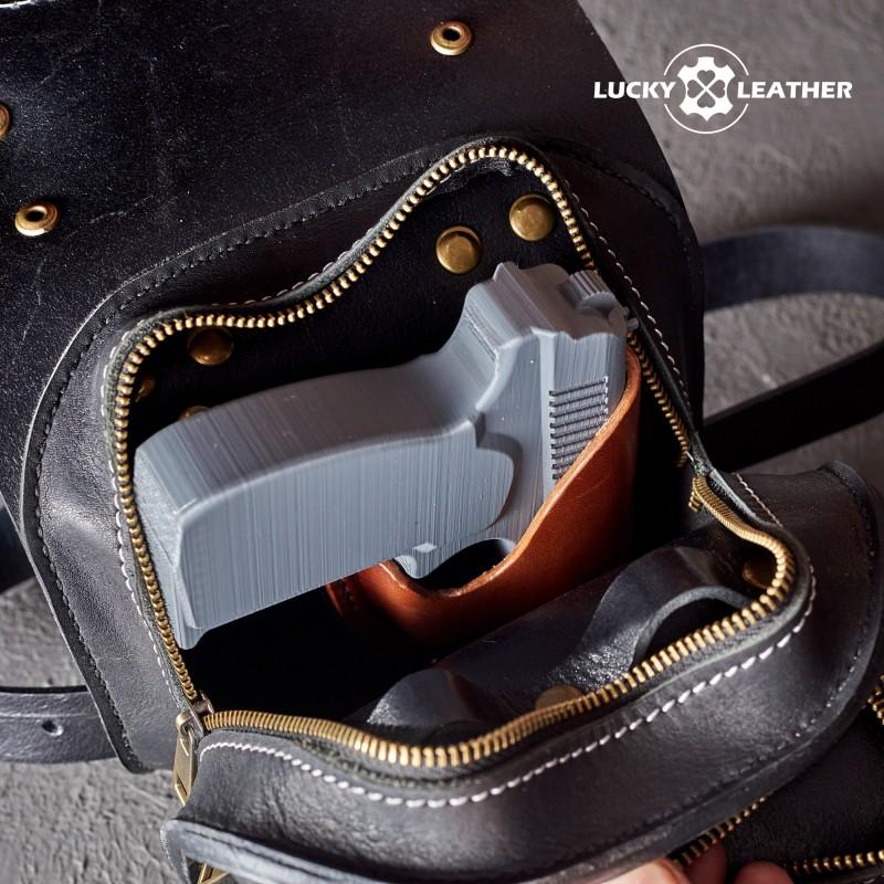 Motorcycle leg bag Cossack