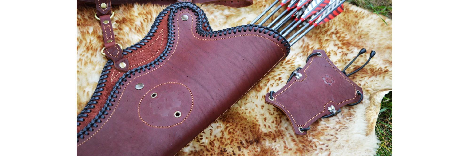 Belt Quivers, Hip Quivers, Handmade