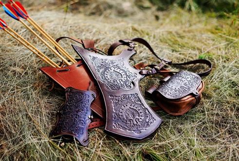 Кожаные колчаны для стрел